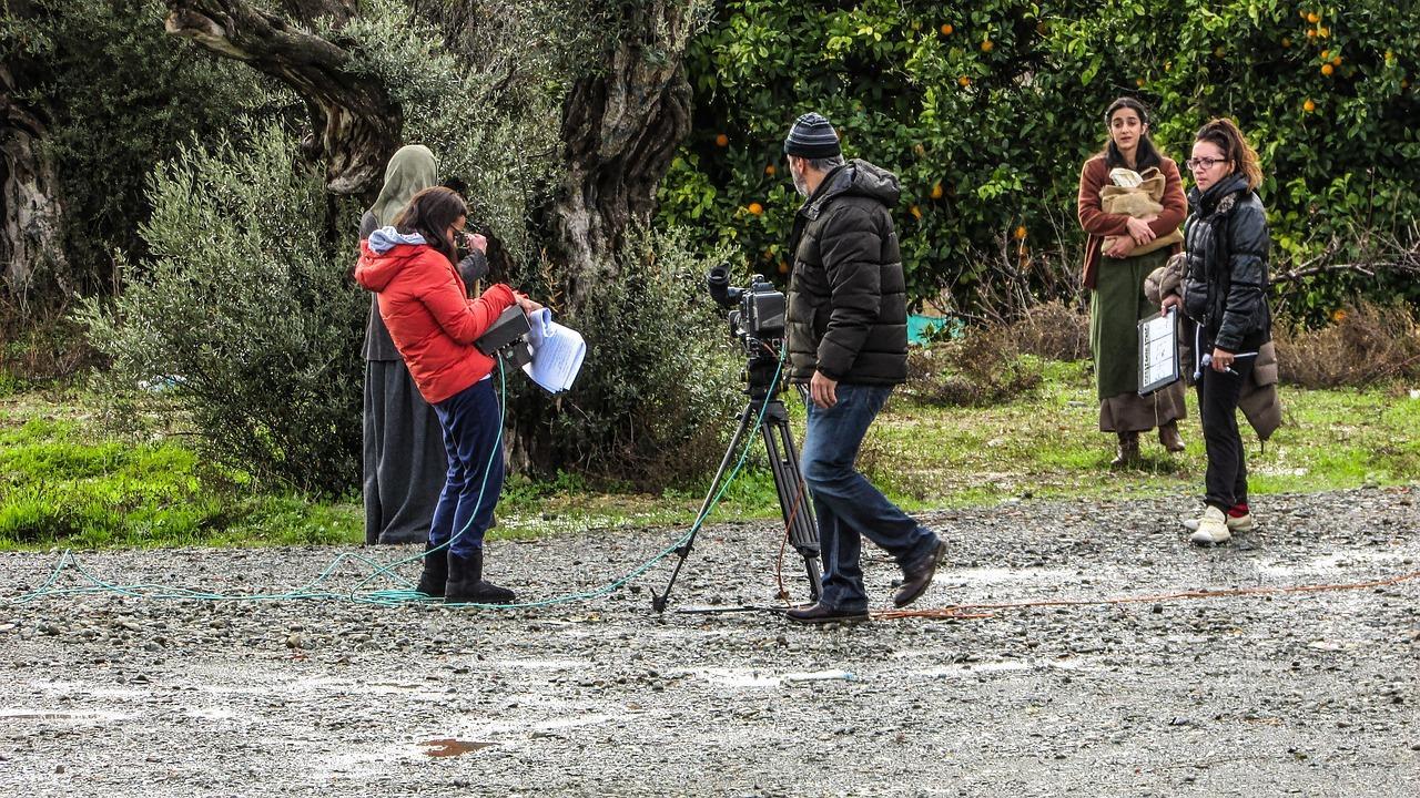 Production film crew